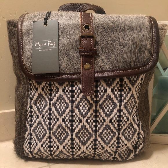 Myra Bag Bags Myra Bag Stella Backpack Bag Poshmark Want to get leather and hairon bag, upcycled handbag & vintage canvas bag? myra bag stella backpack bag